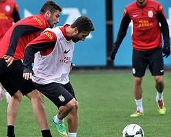 Galatasaray 1 Eksikle Çalıştı