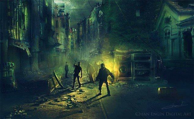 3. Taksim Meydanı / İstiklal Caddesi Zombi İstilası