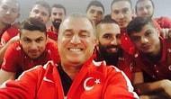 Fatih Terim ve Milli Takım da Selfie Modasına Uydu