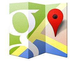 Google Harita Su Altına İndi