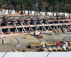 Vodafone Arena İnşaat Çalışmalarında Son Durum
