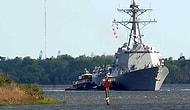 ABD Savaş Gemisi Çanakale Boğazı'nda