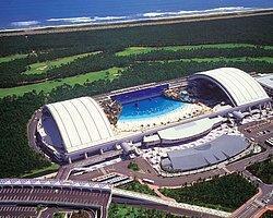 Dünyanın en büyük kapalı su parkı teknoloji devi Japon'lara ait...