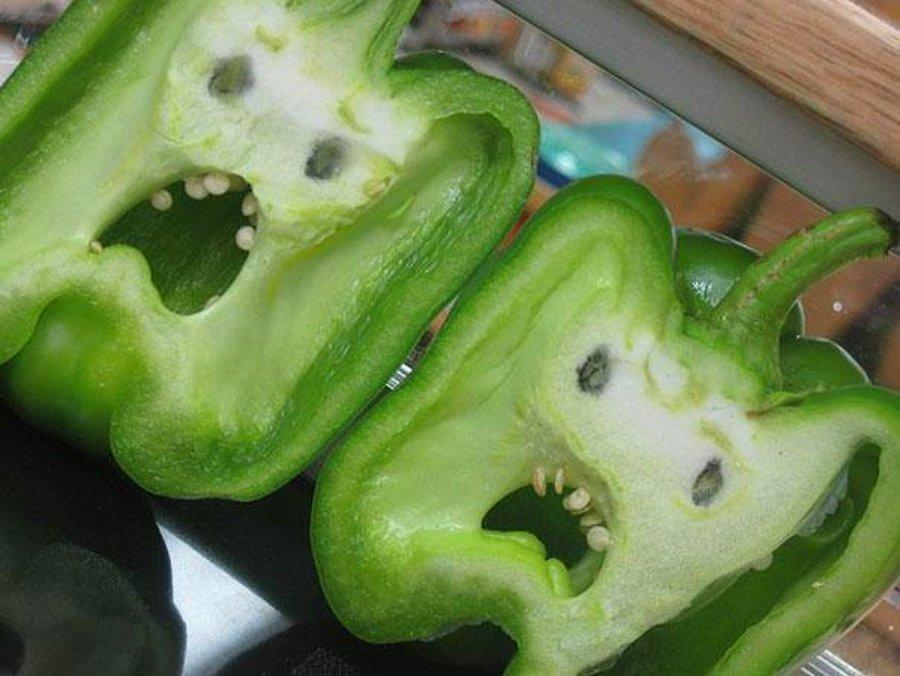 Открытки, смешное картинки овощи