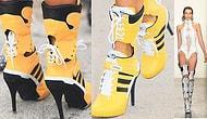 Topuklu Spor Ayakkabı