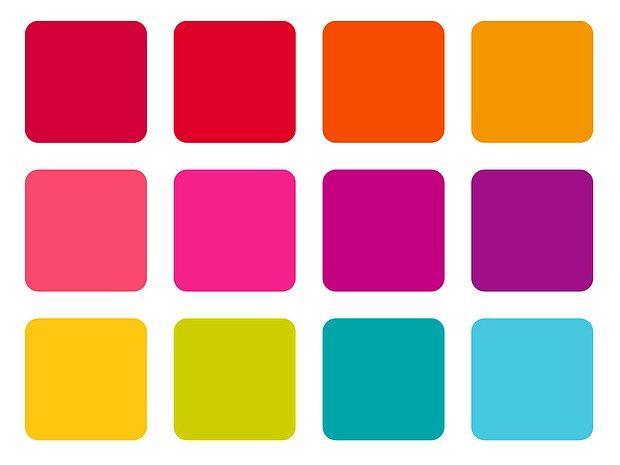 Birden fazla renk var