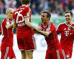 Bayern, Wolfsburg'a Acımadı