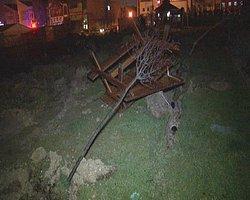 Ankara'da Ağaç Kesimi Gerginliği!