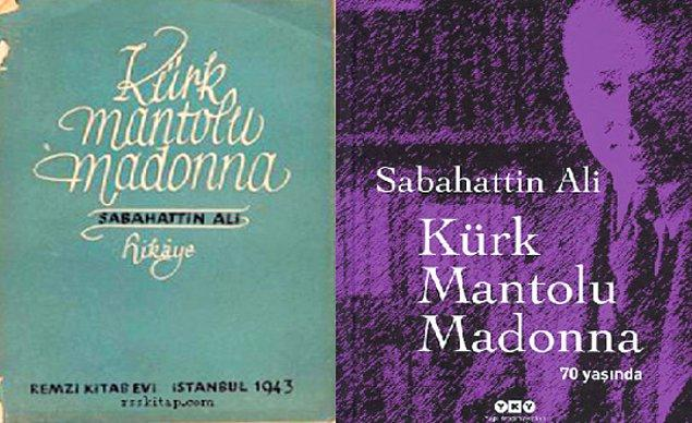 5. Kürk Mantolu Madonna - Sabahattin Ali