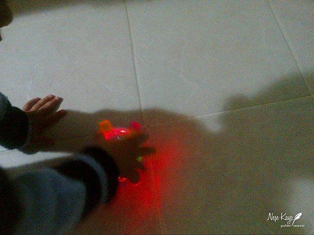 Ve yeğenimin minnak elleri :)