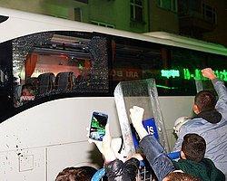 Trabzon'da Fenerbahçe Kafilesine Saldırı
