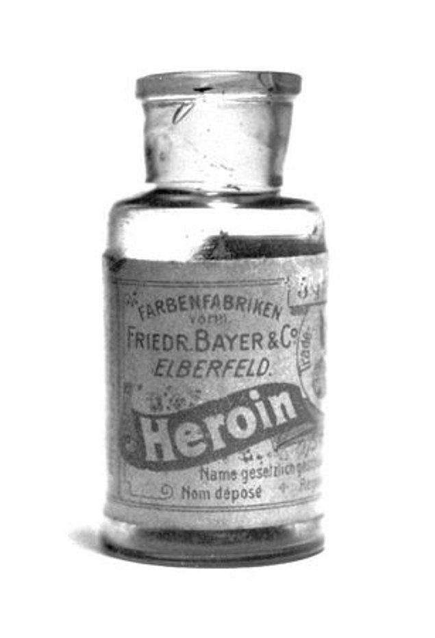 13. Eroin ve Kokain Öksürük Şurubu