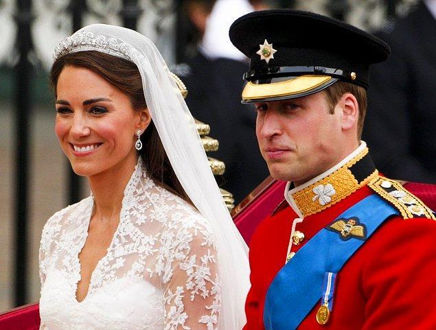 Prince William ve Kate Middleton-$34 milyon dolar
