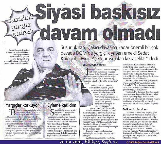 """8. """"Türkiye'de Adalet dediğin bir kadın ismidir"""""""