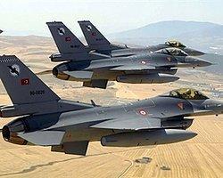 Suriye Uçakları Yaklaşınca Türk F-16'Lar Havalandı