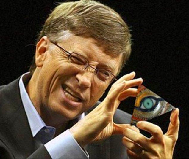 """""""İlluminati'nin Başkanısın: Bill Gates"""""""