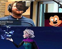 21 Disney ve Pixar Karakteri Sesinden  Let it Go