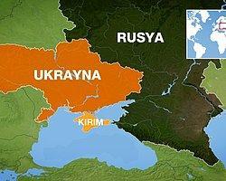 Kırım'da Askeri Üsse 'Rus' Baskını