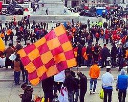 Galatasaraylı Taraftarlardan Londra Çıkarması!