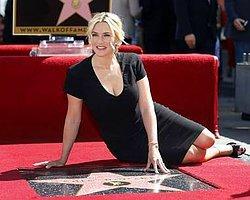 Kaldırımda Bir Yıldız Kate Winslet'a Az Bile