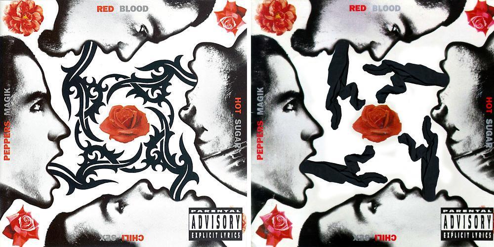 Red Hot Chili Peppersblood Sugar Sex Magikl Cloakedinblack