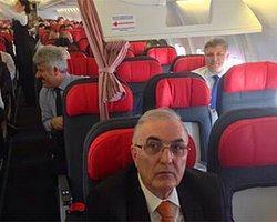 Uçakta Ayrımcılığa Vatandaştan Protesto