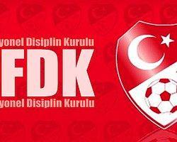 PFDK, 43 Kulübe Ceza Yağdırdı!