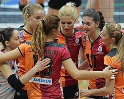 Galatasaray ve Vakıfbank Dörtlü Final'de