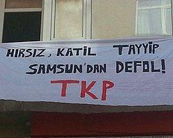 Samsun'da Tkp Binasına Polis Araması