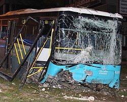 Halk Otobüsü Dehşet Saçtı: 1 Ölü