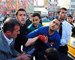 Erdoğan'ı Protesto Eden Halka Saldırı: 1 Kişi Kurşunla Yaralandı