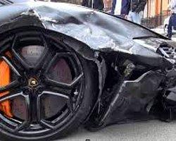 1 Milyonluk Lamborghini'yi Böyle Çarptı