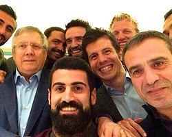 Başkan ve Futbolcular Yemekte Buluştu