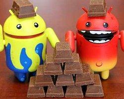 Android Kitkat'lı Cihazların Sayısı Yüzde 100 Arttı