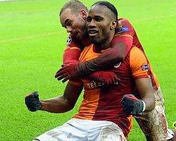 Sneijder ve Drogba'dan İddialı Derbi Mesajı
