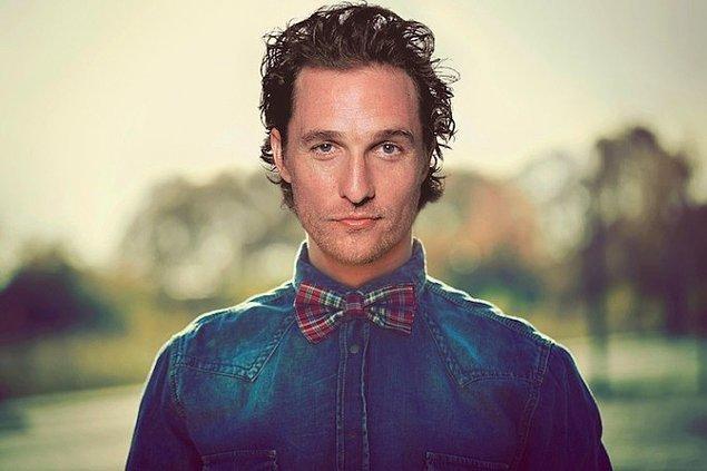 9. Matthew McConaughey