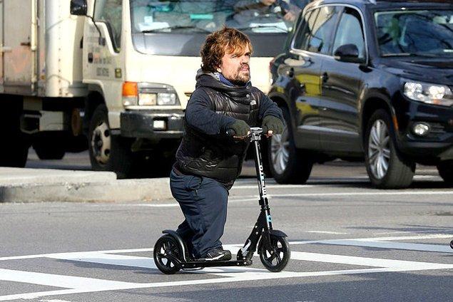 Tyrion scooterda