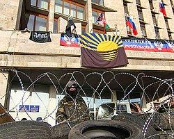Rusya Yanlısı Göstericiler Donetsk'te 'Bağımsızlık İlan Etti'
