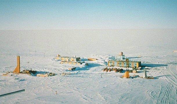 En soğuk yer - Vostok İstasyonu, Antarktika