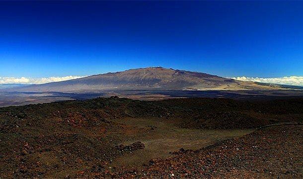 Tabandan doruk noktasına en yüksek dağ - Mauna Kea