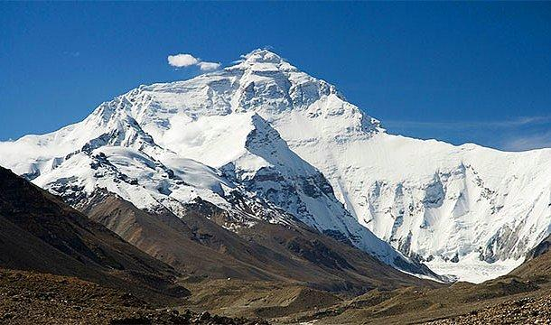 En yüksek dağ - Everest Dağı