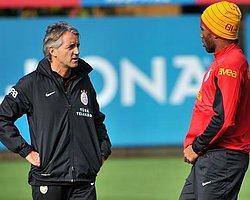 Mancini'den Drogba'ya Tebrik!