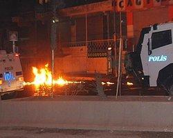 Şırnak'ta Öğrenci Yurduna Molotoflu Saldırı