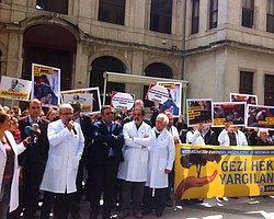 'Gezi Doktorları'yla Dayanışma Eylemi