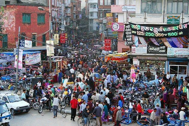 5. Kathmandu, Nepal