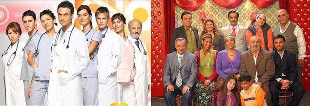 8. Doktorlar ve Cennet Mahallesi dizilerinin tekrar yayınlanması ya da Bodrumda başlayıp İstanbulda devam eden yaz dizileri.