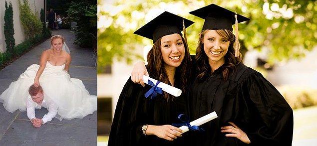12. Facebookunuzu istila eden düğün ve mezuniyet fotoğrafları.