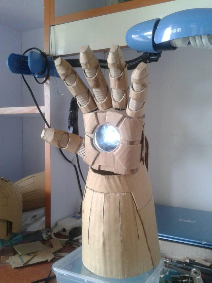 Как создать костюм железного человека настоящий