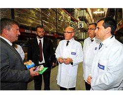 Mehmet Ali Talat'tan Goody'nin Üretildiği Fabrikaya Anlamlı Ziyaret