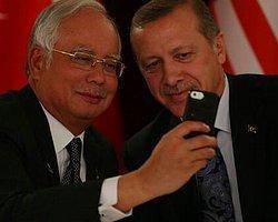 Malezya Başbakanı Necip, Erdoğan'la selfie çekti